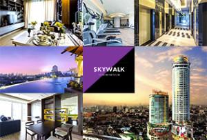 プラカノンを象徴する50階建ての超高層コンドミニアム Skywalk Condominium
