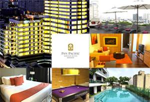 トンロー通りで最高級クラスのサービスアパートといえば Pan Pacific Serviced Suites Bangkok