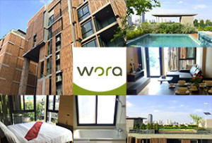 サミティベート病院まで徒歩3分! 好立地に割安なサービスアパートが誕生! Wora Serviced Apartment
