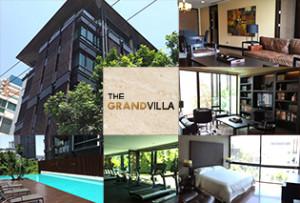 抜群の立地と洗練されたデザイン。いつかは住みたいエカマイの高級アパート The Grand Villa
