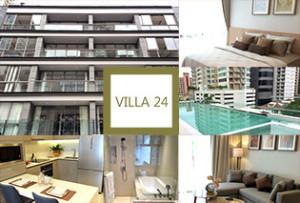 エンポリアムの真裏でベンジャシリ公園沿いという最高の立地に新築アパートが誕生! VILLA 24