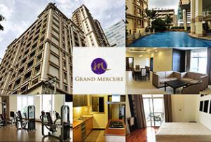 アソーク駅徒歩圏内で大型犬OKの3ベッドルームならここで決まり! Grand Mercure Bangkok Asok Residence