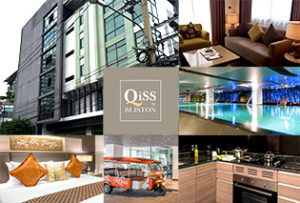 スクンビット42の奥という立地ながら、日本人入居率100%を誇るサービスアパート「QiSS Residence by Bliston」