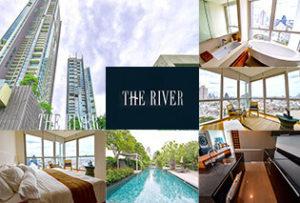 これぞバンコクという絶景を独り占め! チャオプラヤー川沿いに立つ地上70階の超高層コンドミニアム「The River」