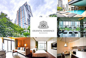 マンダリンオリエンタル系列のサービスアパートで優雅な日々を。Oriental Residence Bangkok