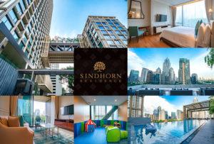 最高の環境で最上の部屋に暮らす喜び。Sindhorn Residence