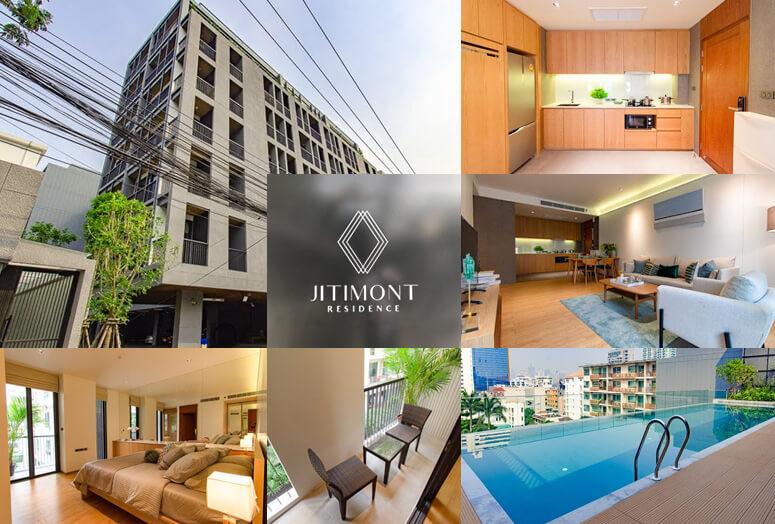 トンローのど真ん中に日本人好みのアパートが誕生! Jitimont Residence